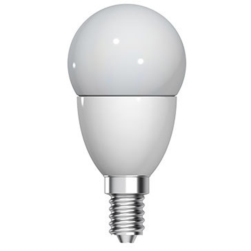 GE LED P45 4W SES Very Warm White Opal Dimmable
